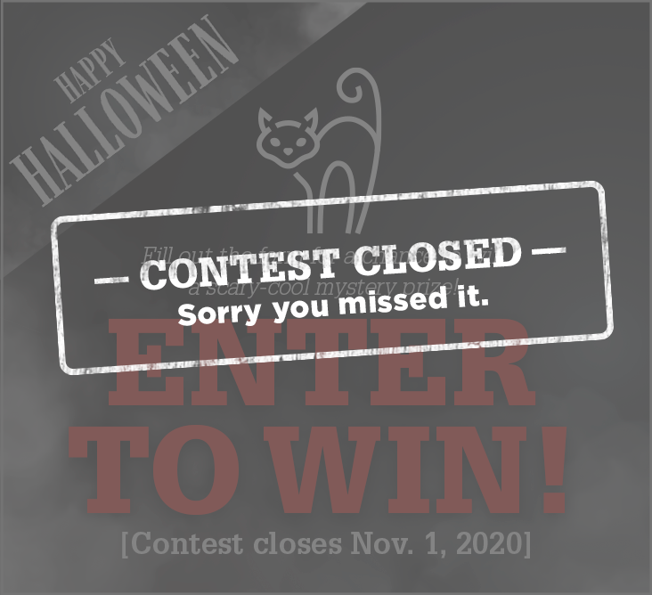 Sorry, contest is closed. New contest coming soon!